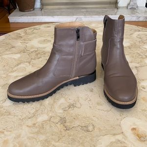 Franco Sarto Chevelle Leather Ankle Booties
